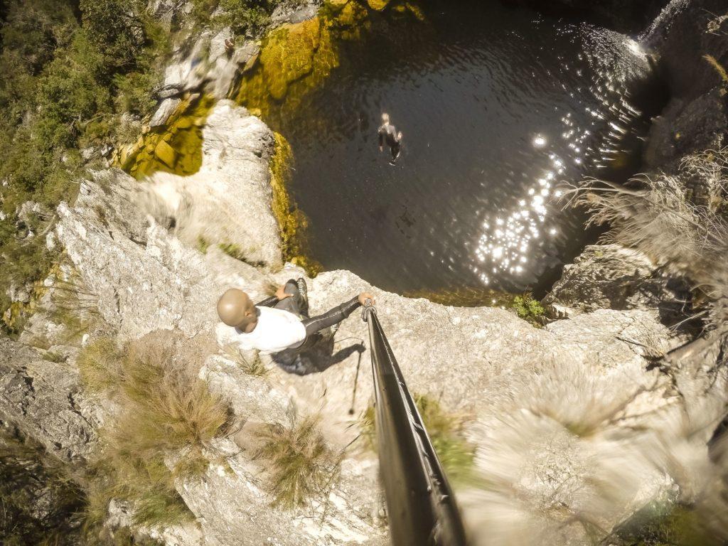 Suicide Gorge Jump