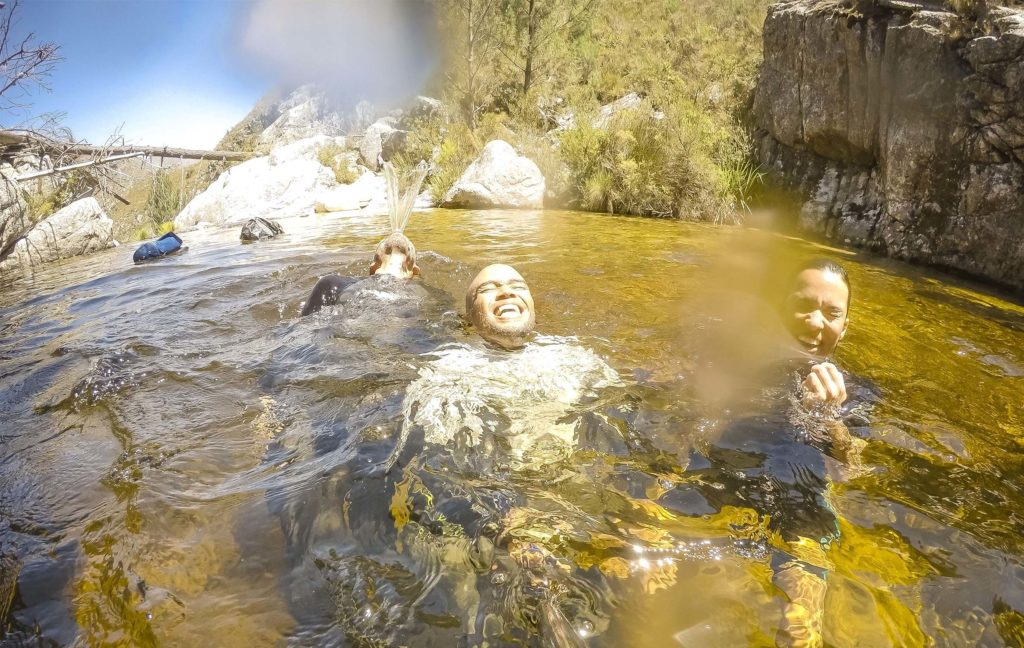 Swimming Suicide Gorge
